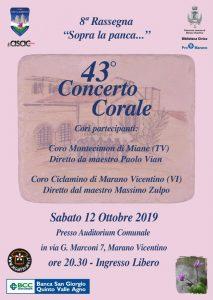 Marano Vicentino - Concerto con il Coro Ciclamino @ Auditorium Comunale | Veneto | Italia